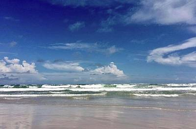 Photograph - North Padre Island Beach by Kristina Deane