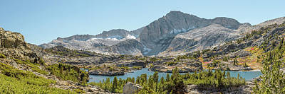 Photograph - North Peak And Shamrock Lake - Panorama by Alexander Kunz