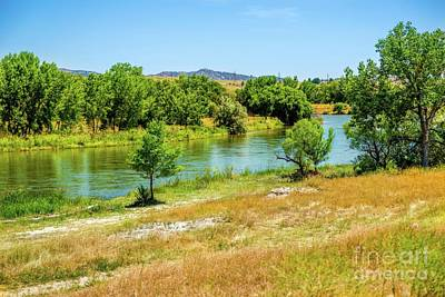 Photograph - North Platte River by Jon Burch Photography