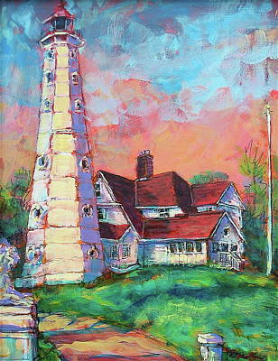 Painting - North Point by Les Leffingwell