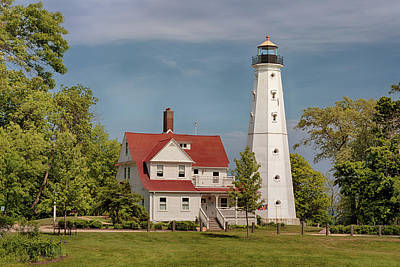 Photograph - North Point Lighthouse 2 by Susan Rissi Tregoning