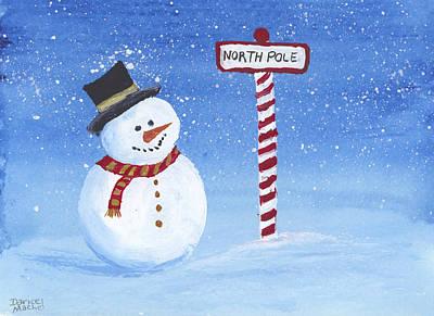 Painting - North Pole by Darice Machel McGuire