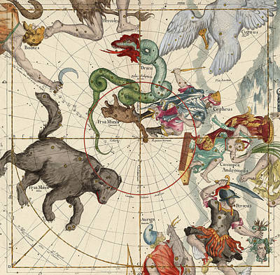 Signs Of The Zodiac Painting - North Pole by Ignace-Gaston Pardies