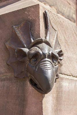 Photograph - North Portal Mascaron by Teresa Mucha