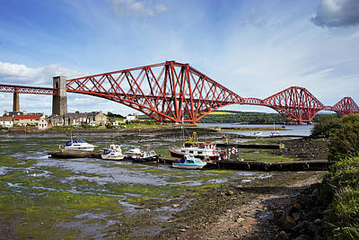 Art Print featuring the photograph North Queensferry by Jeremy Lavender Photography