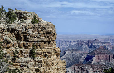 Photograph - North Rim Layers Of Time by William Bitman