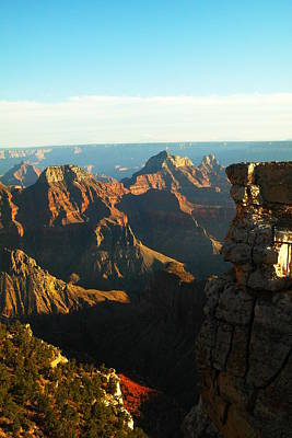 Rocks Photograph - North Rim Of The Grand Canyon by Jeff Swan