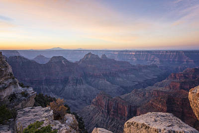 Photograph - North Rim Sunrise 2 - Grand Canyon National Park - Arizona by Brian Harig