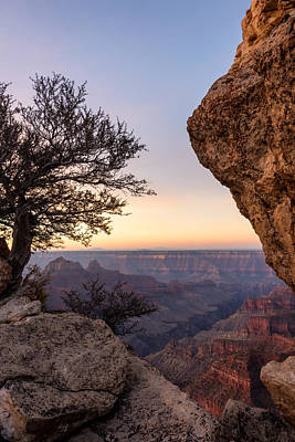 North Rim Sunrise 4 - Grand Canyon National Park - Arizona Art Print