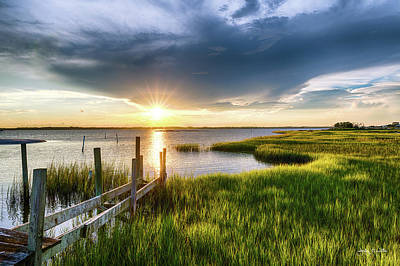 Photograph - North River Sunstar by Jody Merritt