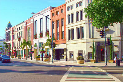 Photograph - North Rodeo Drive by Hold Still Photography
