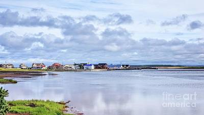 Photograph - North Rustico Harbor Prince Edward Island by Edward Fielding