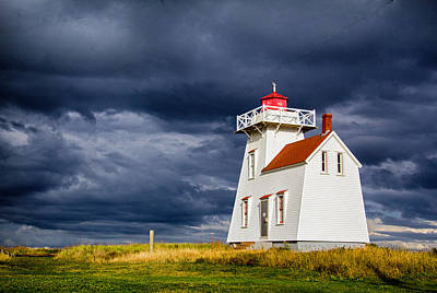 Photograph - North Rustico Harbour Light by Carolyn Derstine
