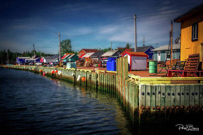 Photograph - North Rustico Harbour by Patrick Boening