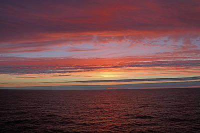 Photograph - North Sea Dawn by Tony Murtagh