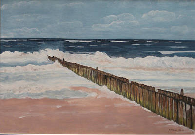North Sea Sylt Art Print by Antje Wieser