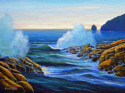 Painting - North Shore by Frank Wilson