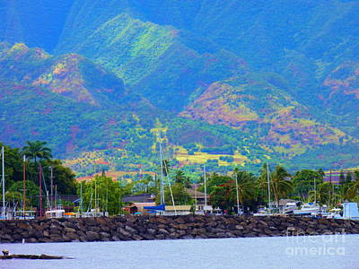 North Shore Haleiwa Hawaii  Art Print