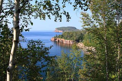 North Shore Lake Superior Art Print