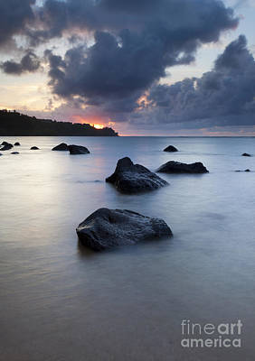 North Shore Stormset Print by Mike Dawson
