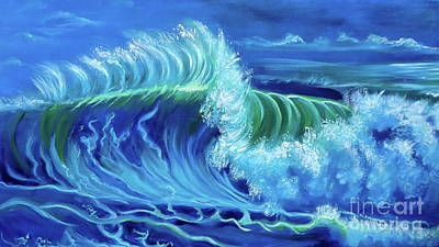 Painting - North Shore Wave Hawaii Jenny Lee Discount by Jenny Lee