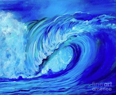 Painting - North Shore Wave II by Jenny Lee