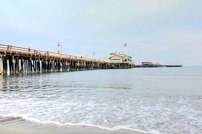 Photograph - North Side Stearn's Wharf by Richard Omura