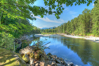 Photograph - North Stilliguamish River by Spencer McDonald