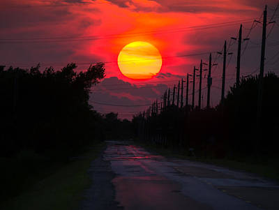 Tecumseh Photograph - North Talbot Sunset by Cale Best