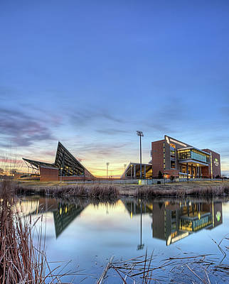 Photograph - North Texas Apogee Stadium by JC Findley