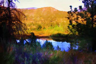 North Thompson River Art Print