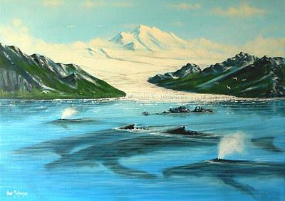 North To Alaska Original by Bob Patterson