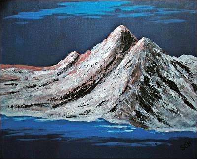 Mixed Media - North To Alaska by Scott Haley