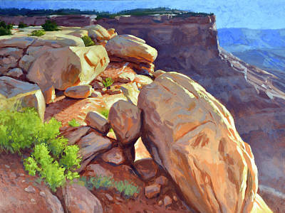 Painting - North Towards Moab by Stephen Bartholomew