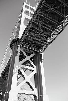 Photograph - North Tower Of Golden Gate Bridge by Daniel Hagerman