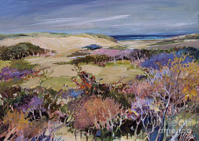 North Truro Dune Art Print by Diane Ursin