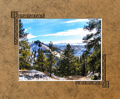Art Print featuring the photograph North View by Susan Kinney