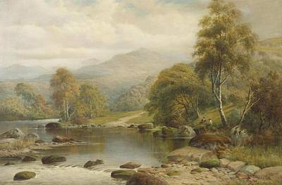 North Wales Painting - North Wales by William Henry Mander
