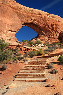 Photograph - North Window In Arches National Park by Pierre Leclerc Photography