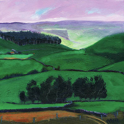 Destination Painting - North York Moors Copse by Neil McBride