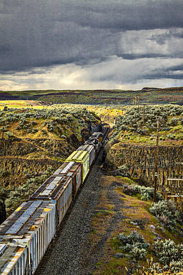 Photograph - Northbound Through The Palouse 2  -  110516-113-2 by Albert Seger
