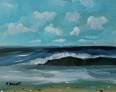 Painting - Northeast Atlantic View  by Christina Schott