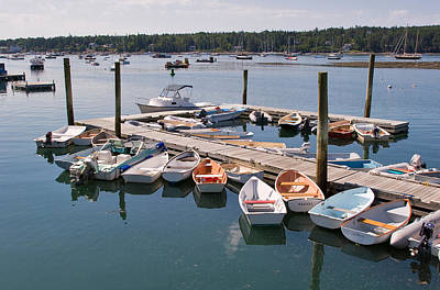 Boat Photograph - Northeast Harbor Maine by Louise Heusinkveld