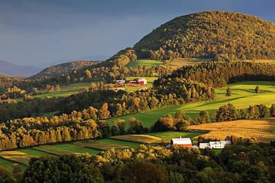 Photograph - Northeast Kingdom Early Autumn by Alan L Graham