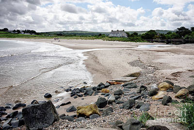 Photograph - Norther Ireland Beach Near Ballycastle by Vizual Studio