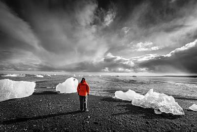 Photograph - Northern Atlantic Beach by Alexey Stiop