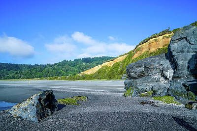 Blue Photograph - Northern Beach by Ric Schafer