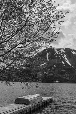 Photograph - Northern California Boat And Mountain by John McGraw