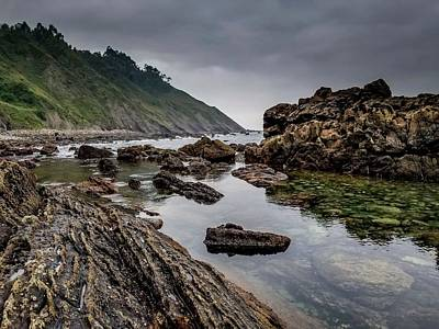 Shore Photograph - Northern Coast by Ric Schafer