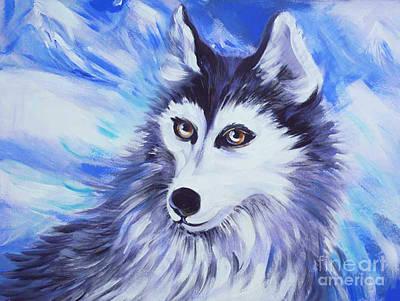 Northern Eyes Original by Anna  Duyunova